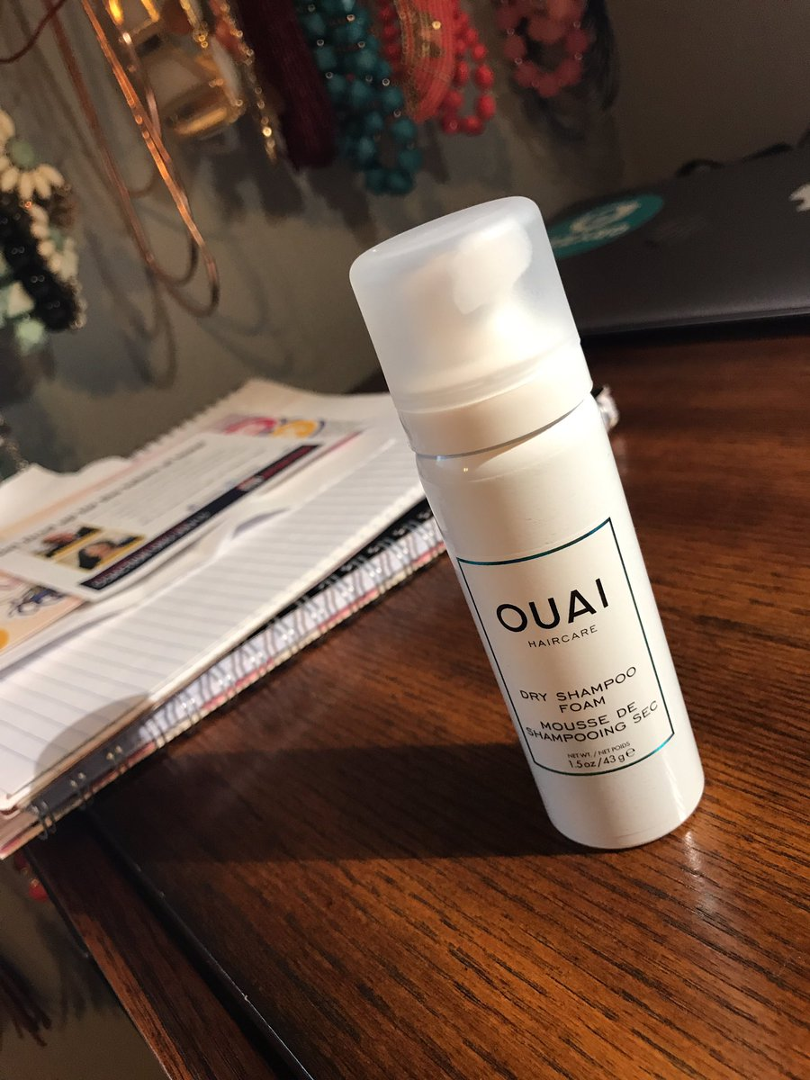 @theouai @jenatkinhair love my new dry shampoo! I am finally a believer. I bought my sample kit from #Sephora. Totally worth the  <br>http://pic.twitter.com/QFWaK1dgpw