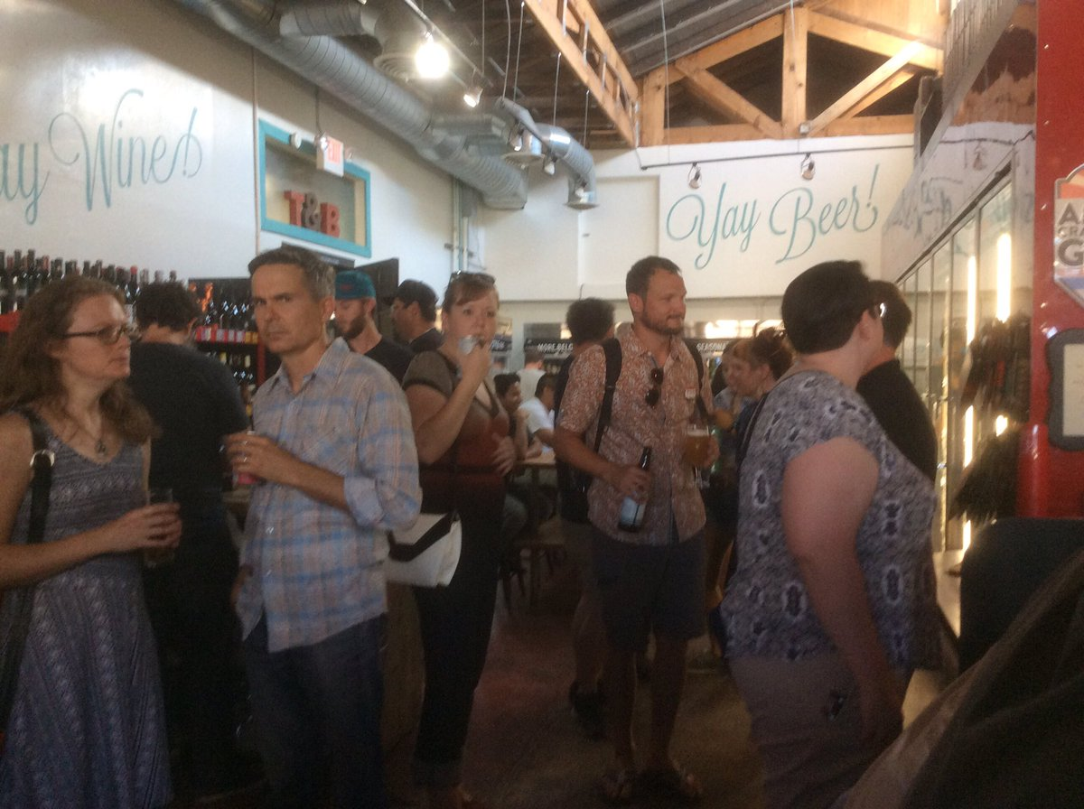 It&#39;s a packed house at @TheTapAndBottle for @kovacs4congress Kickoff Party! Great #CraftBeer &amp; awesome people. #Tucson #Local #FlipThe2nd<br>http://pic.twitter.com/L9VXpcEYpR