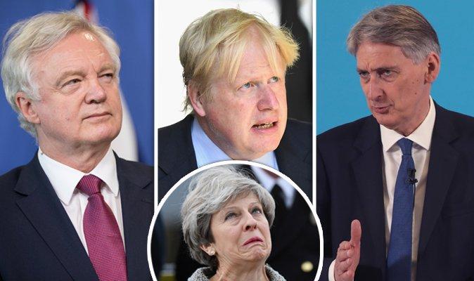 Tories Brexit war: David Davis slams 'inconsistent' Philip Hammond for Boris Johnson jibe https://t.co/ZcyKQJcAJo