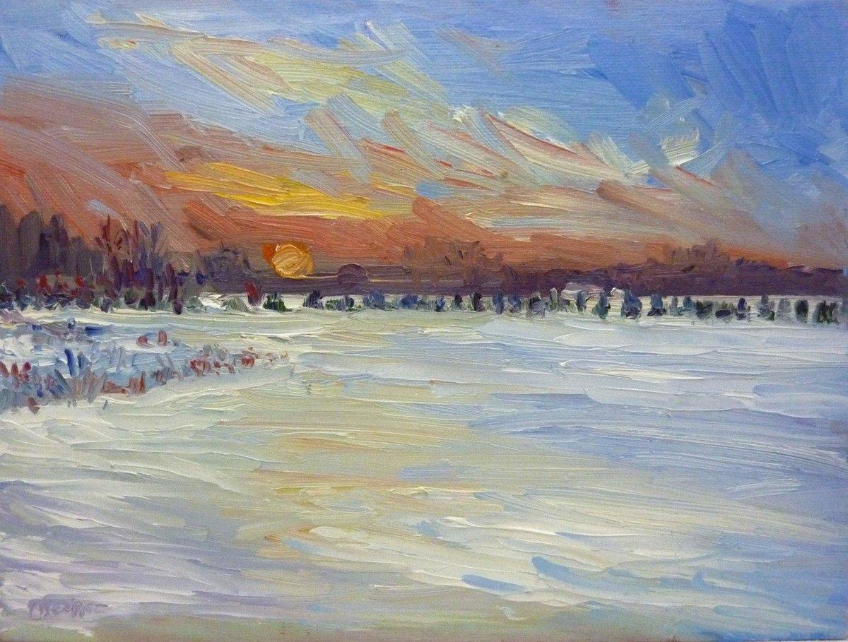 Winter Original Landscape Oil Painting Snow at Dusk  https:// seethis.co/e9lMm/  &nbsp;   #winter #landscapeoilpaintings #oilpaintings #smalllandscapes<br>http://pic.twitter.com/kpRaKy9Usb