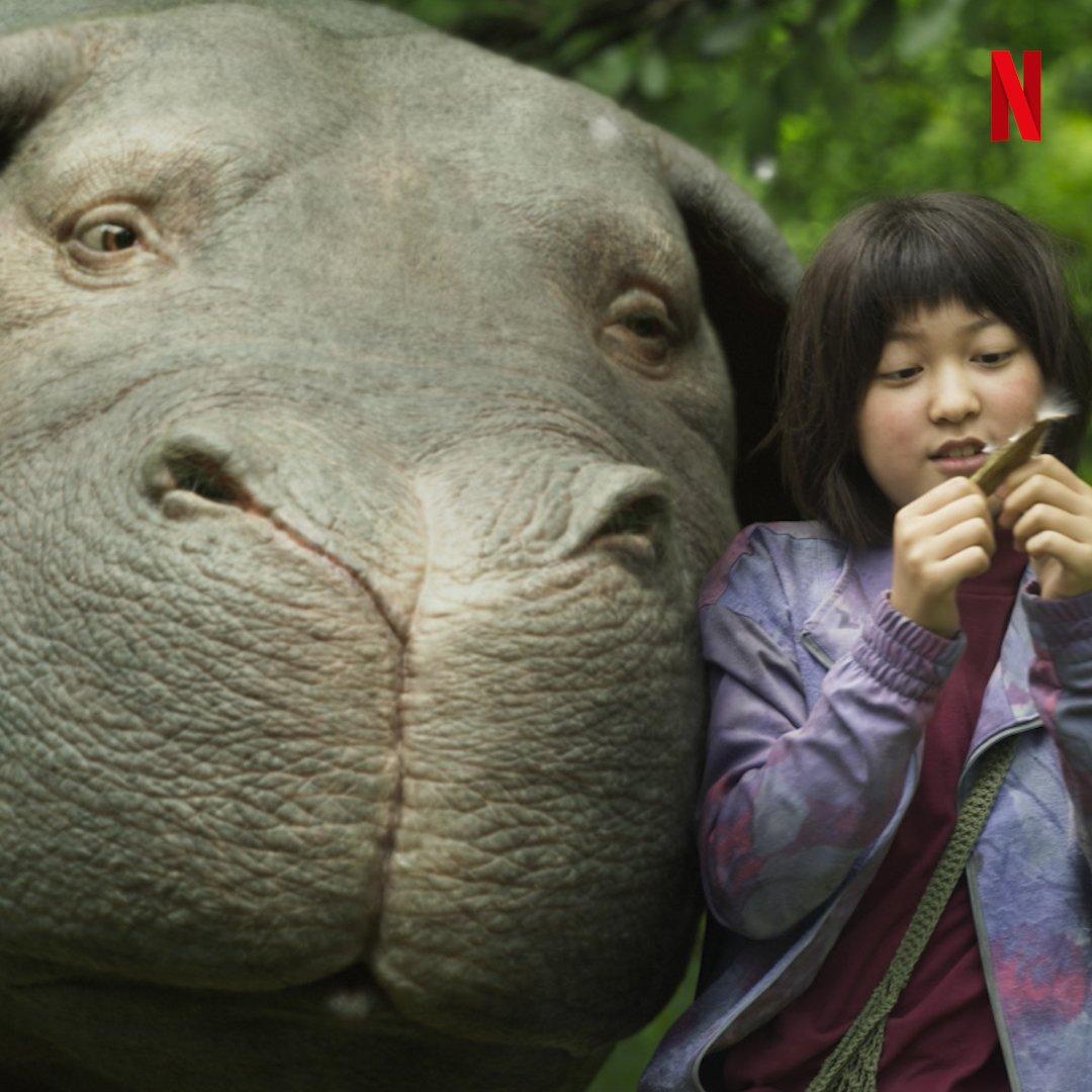 La amistad hace mejor nuestras vidas. #Okja, una película de Netflix,...