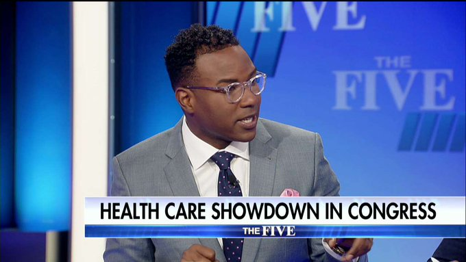 .@Richardafowler on Senate health care bill: 'It doesn't matter what #Democrats do because you don't need us to pass this bill.' #TheFive