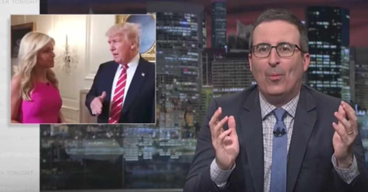 John Oliver tears into Donald Trump's 'extraordinarily stupid' tape comments https://t.co/ye7SLNjPG6