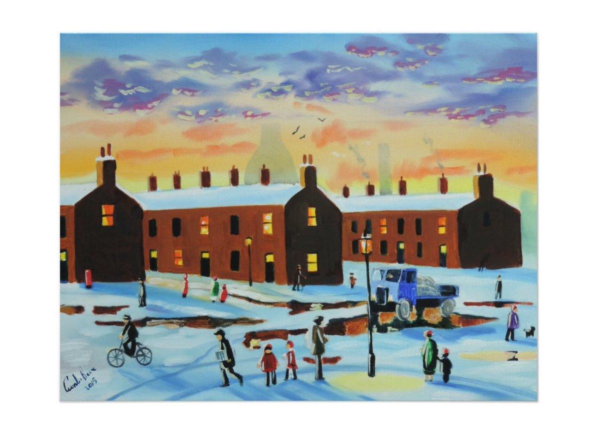 #winter street scene painting  http://www. zazzle.com/winter_street_ scene_painting_poster-228876509347780341?rf=238169619599789519 &nbsp; … <br>http://pic.twitter.com/NlBmmS5yMk