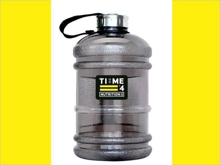 #RT to win this half gallon water bottle from Time 4 Nutrition #win #fitfam #fitness #mma #sport #training<br>http://pic.twitter.com/CH1sGrsvx3