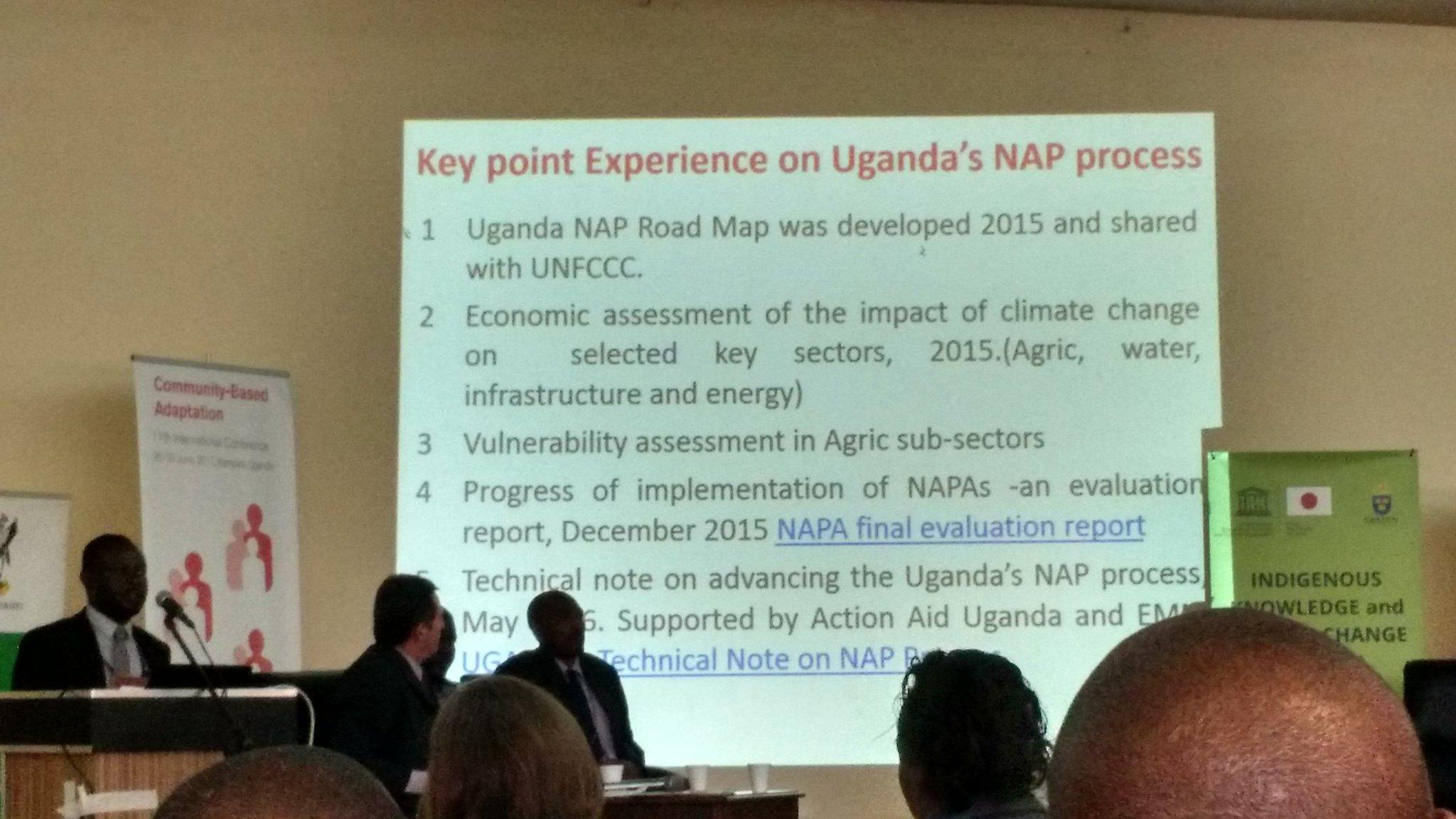 Uganda makes progress on #NAP process #CBA11 #NAPexpo https://t.co/6EHe9cAHvx