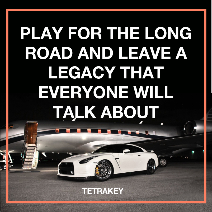 #Play for the long #road and leave a #Legacy that #everyone will talk about. #quote #wednesdaymotivation #Successful #Entrepreneur #Wealth<br>http://pic.twitter.com/QuNVbIkHfo