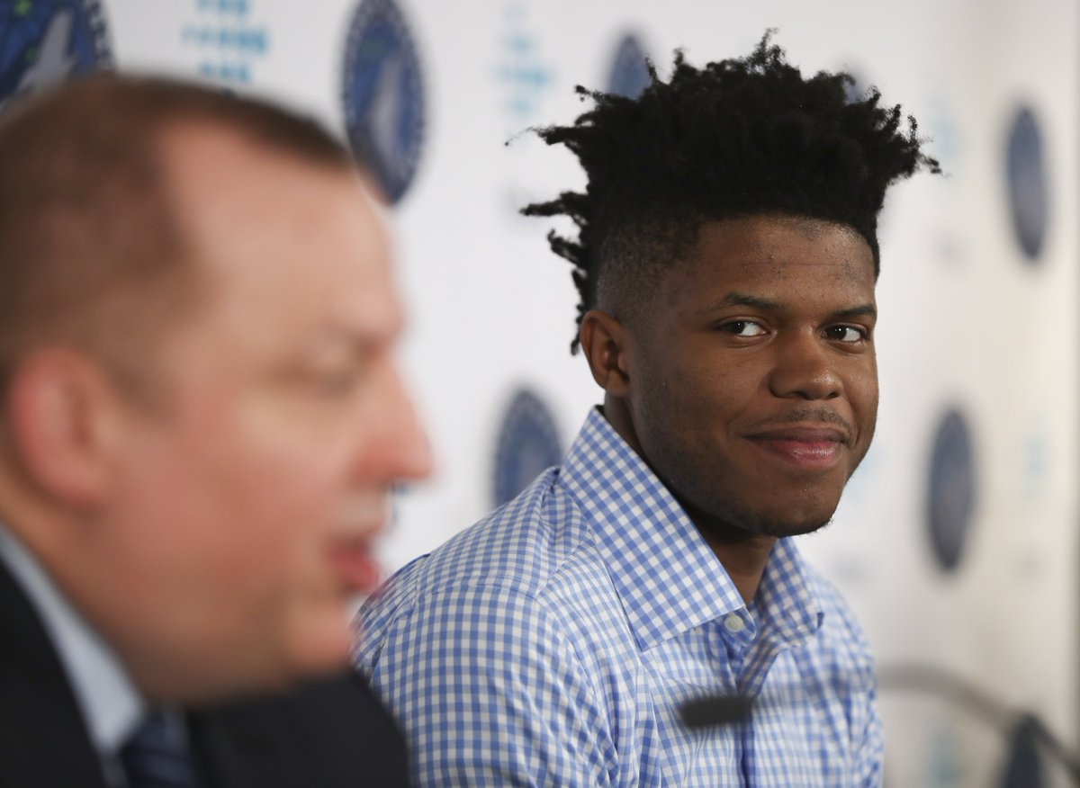 Guard skills in a center&#39;s body. That&#39;s #twolves draft pick @JustinPatton17. More from @JerryZgoda  http:// strib.mn/2tVPRss  &nbsp;  <br>http://pic.twitter.com/PY5gS7hD8g