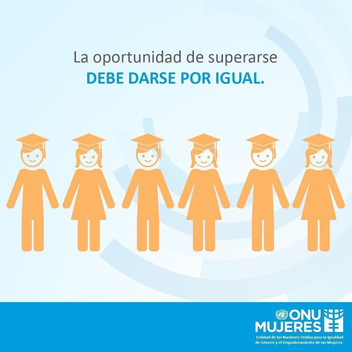 La educación es un #derecho para todas y todos, para cumplir los logro...
