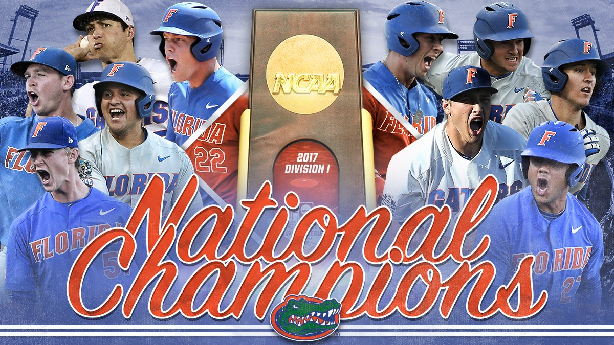 For the first time ever...  THE FLORIDA GATORS ARE NATIONAL CHAMPIONS! https://t.co/7uVYFtKMHo