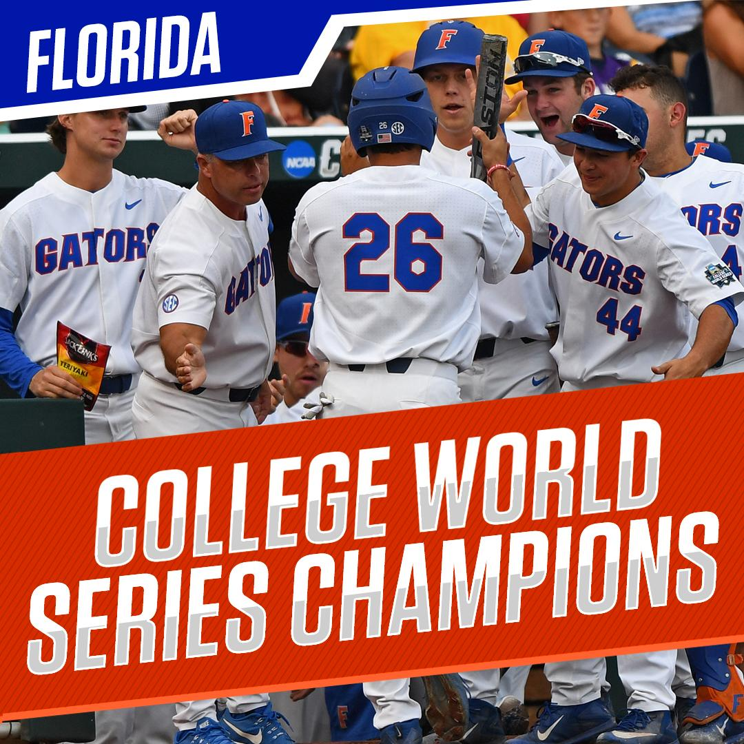 Gators win! Florida defeats LSU in two games to take its first College...