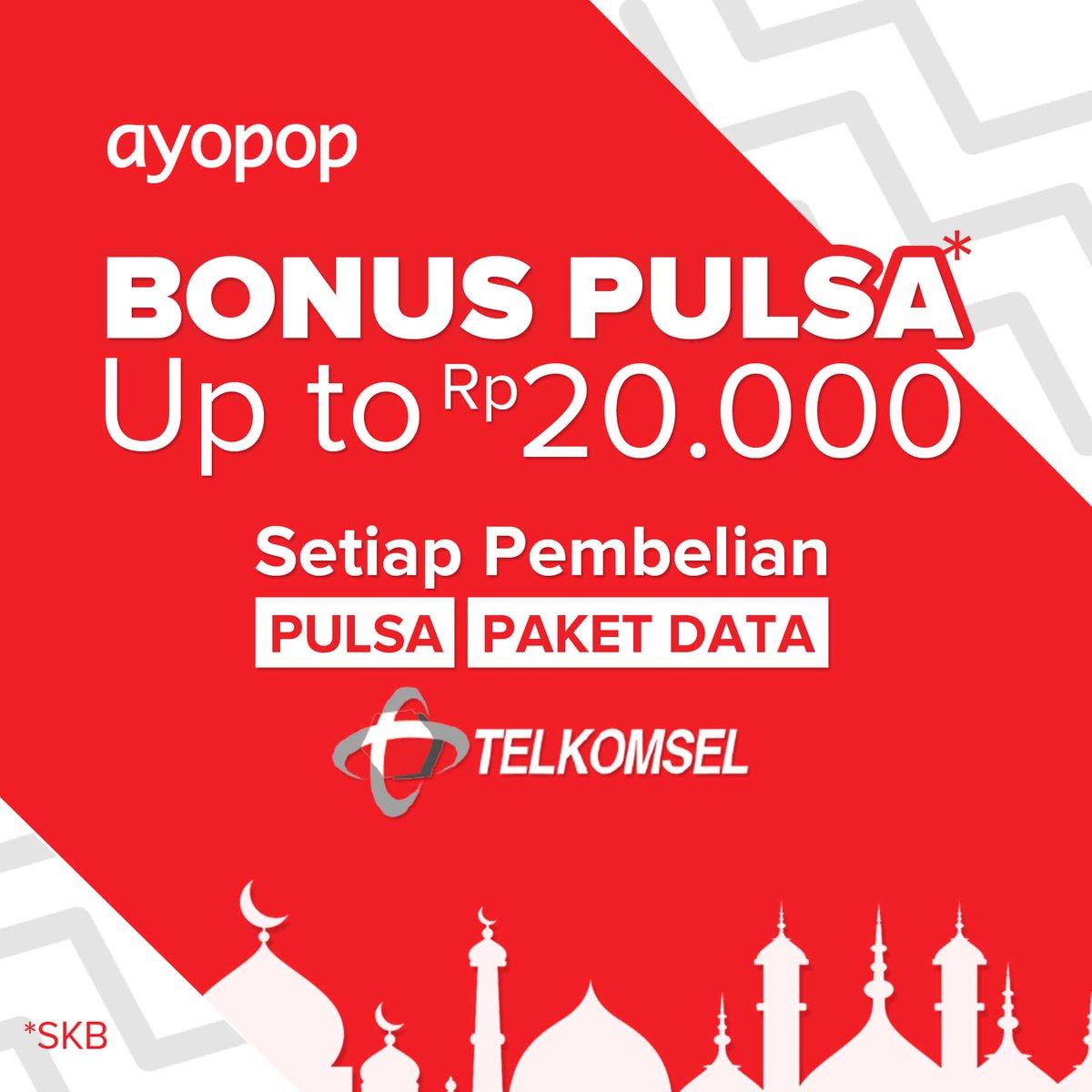 Telkomsel Pulsa Rp200000 Spec Dan Daftar Harga Terbaru Indonesia Data 12 Gb Kode Tdsim10 Ayopop On Twitter Bonus Untuk Setiap Pembelian Atau Paket Dengan