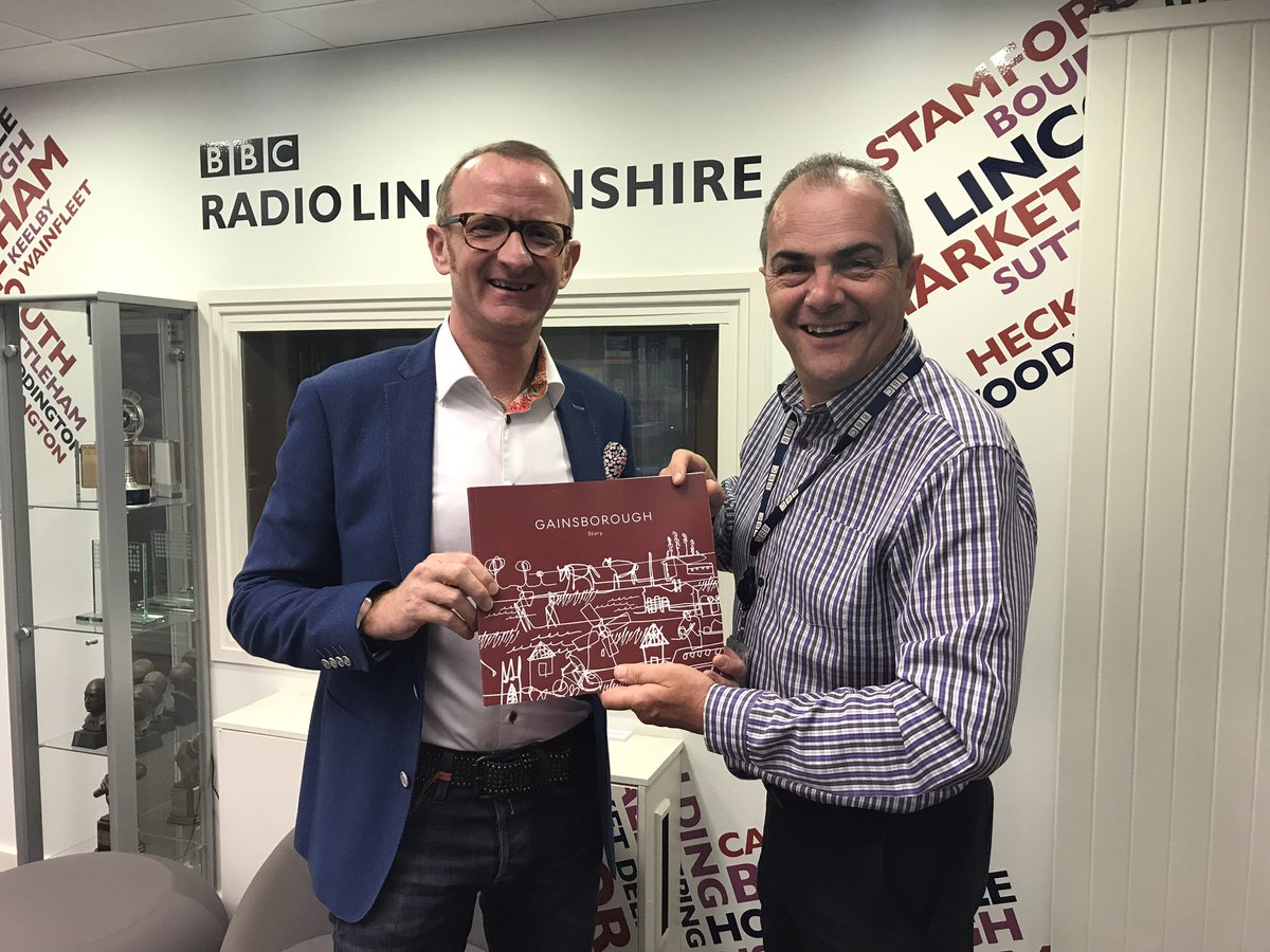 Great to be @BBCRadioLincs with  @PygottandCrone @melvynprior promoting @InvestGainsboro #live #work #invest<br>http://pic.twitter.com/byovzAL6oY