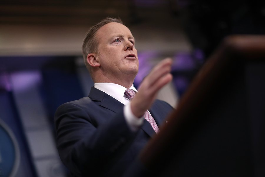 Sean Spicer:Trump Was Joking When He Encouraged Russia To Hack Hillary Clinton: https://t.co/D4ZBj08gQb