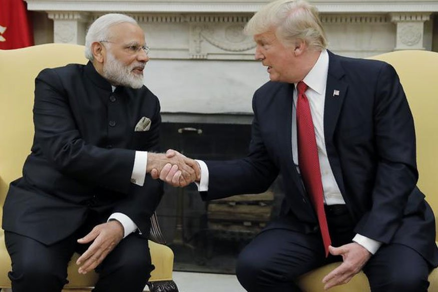 """Prez Trump said yesterday """"relationship between India and the United State has never been stronger and has never been better"""": US State Dept"""