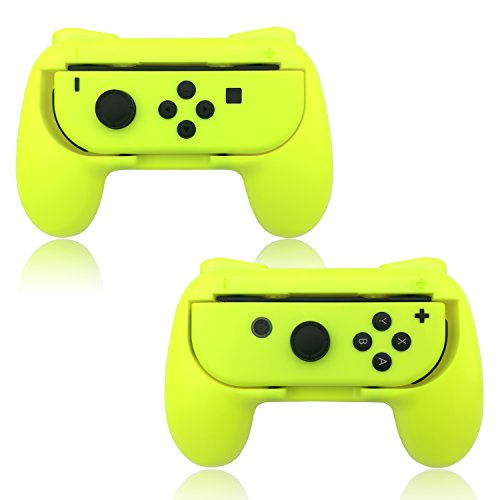 About Fyoung Joy-Con Grips for Nintendo Switch (2 packs), Wear-resistant Joy-con Handles for Nintendo Switch (Yellow) on DIY Home Space recommended through DIY Home Space