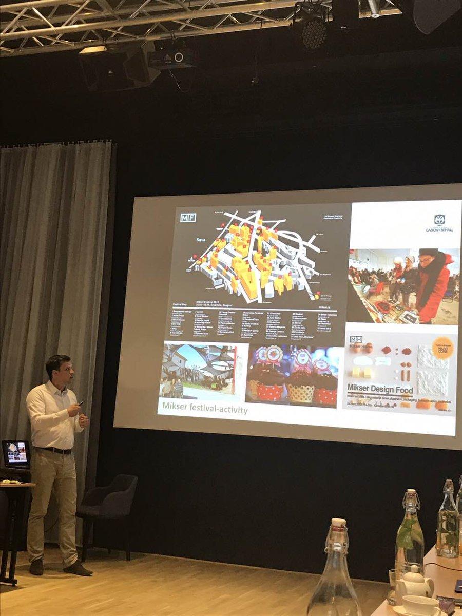 presenting impact of #creative #tech #industry  #local #development @Interreg_Danube #Liberec #Savamala @MIKSERBeograd @NovaIskra @startitrs<br>http://pic.twitter.com/OS8YjAmyYs