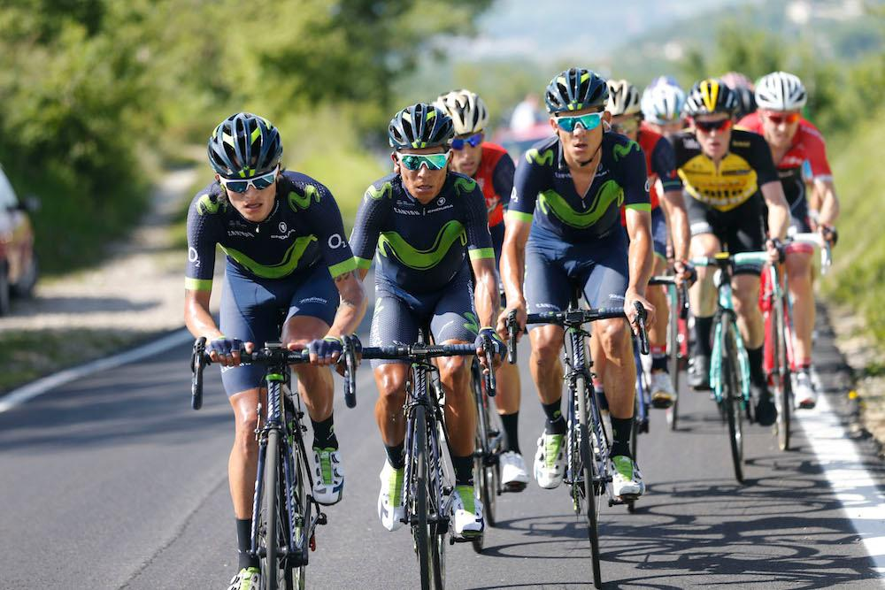 #Movistar announce team to support #Nairo #Quintana at the Tour de France  http:// bit.ly/2sPooKi  &nbsp;  <br>http://pic.twitter.com/omIS0GPJON
