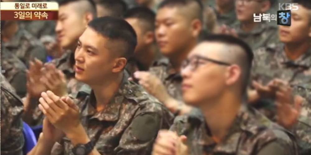 Joo Won recently spotted in the military on a TV broadcast https://t.co/xtcQu2FTVe
