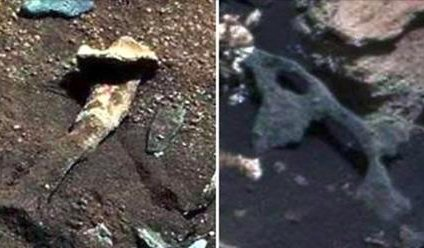 NASA rover spots 'alien thigh bone' on the surface of Mars #7News https://t.co/xoxCAV1bZ4