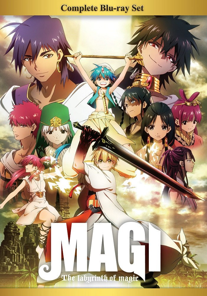 Magi On Twitter Pick Up Your Copy Of Magi The Labyrinth Of Magic Complete Bd Box Set Today Https T Co Qd967hhqdu