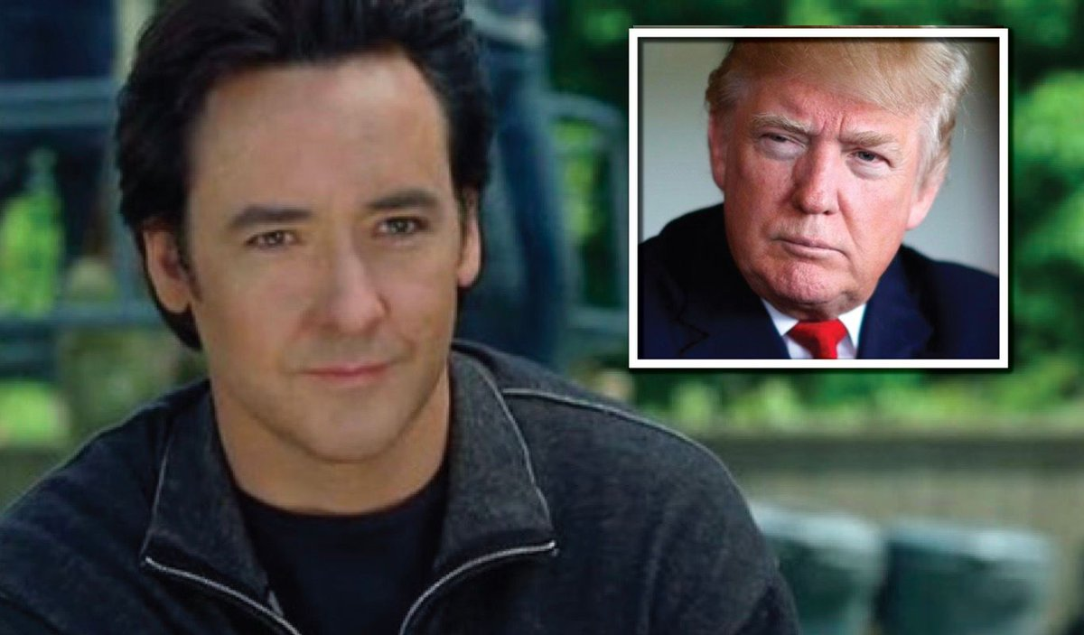 Now John Cusack tweets a passive threat against Trump! Fine these actors for hate speech please! #covfefe #trump   http:// buff.ly/2tmRx0R  &nbsp;  <br>http://pic.twitter.com/ZhgjfoEuZH