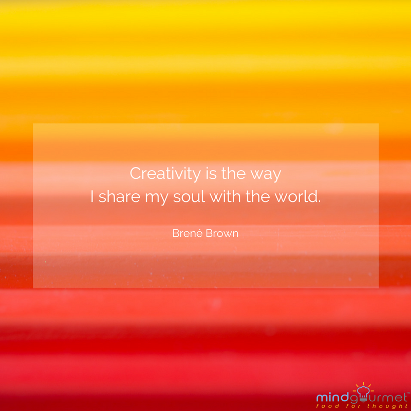 Creativity is the way I share my soul with the world. - Brené Brown @BreneBrown #creativity #soul #world <br>http://pic.twitter.com/zqVoAWbmnU