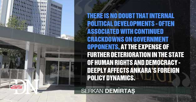#HDNOpinion The impasses of Turkish foreign policy at first glance by Serkan Demirtaş https://t.co/DFYiqInlZN
