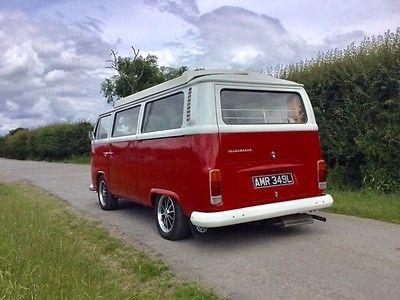 Uk Classic Cars On Twitter Ebay Vw Classic Camper Van Bay Window T2 Devon Https T Co Nurputw5xn Classiccars Cars