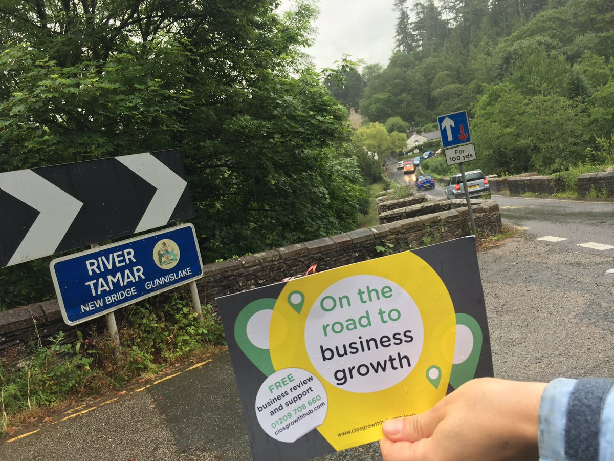 We nearly went over the Tamar! #TownTakeover #Gunnislake https://t.co/...