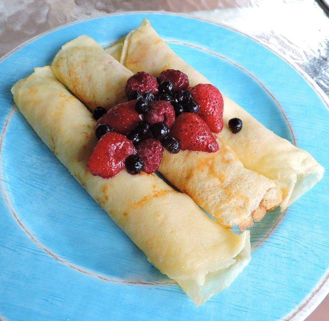 Danish Pancakes- Taste of Home Tuesday