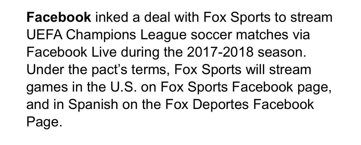 First @FOXSports gets the #USOpen2017 completely right and now this. @...