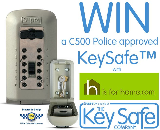 #Win a @keysafeuk outdoor key safe with @hisforhome Enter here☛  http:// 4ho.me/KySafe  &nbsp;   #competition #giveaway #HomeSecurity #WinitWednesday<br>http://pic.twitter.com/VqCrhcodng