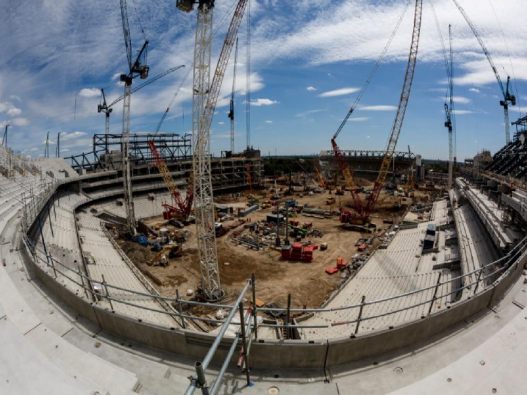 FOTO: nova casa do Tottenham está assim https://t.co/cUv86KBPu6