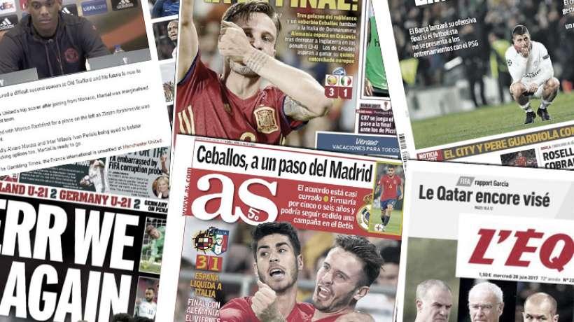 L'ultimatum du Barça au PSG pour Verratti, Anthony Martial veut quitte...