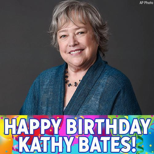 Happy birthday to incredible actress Kathy Bates!