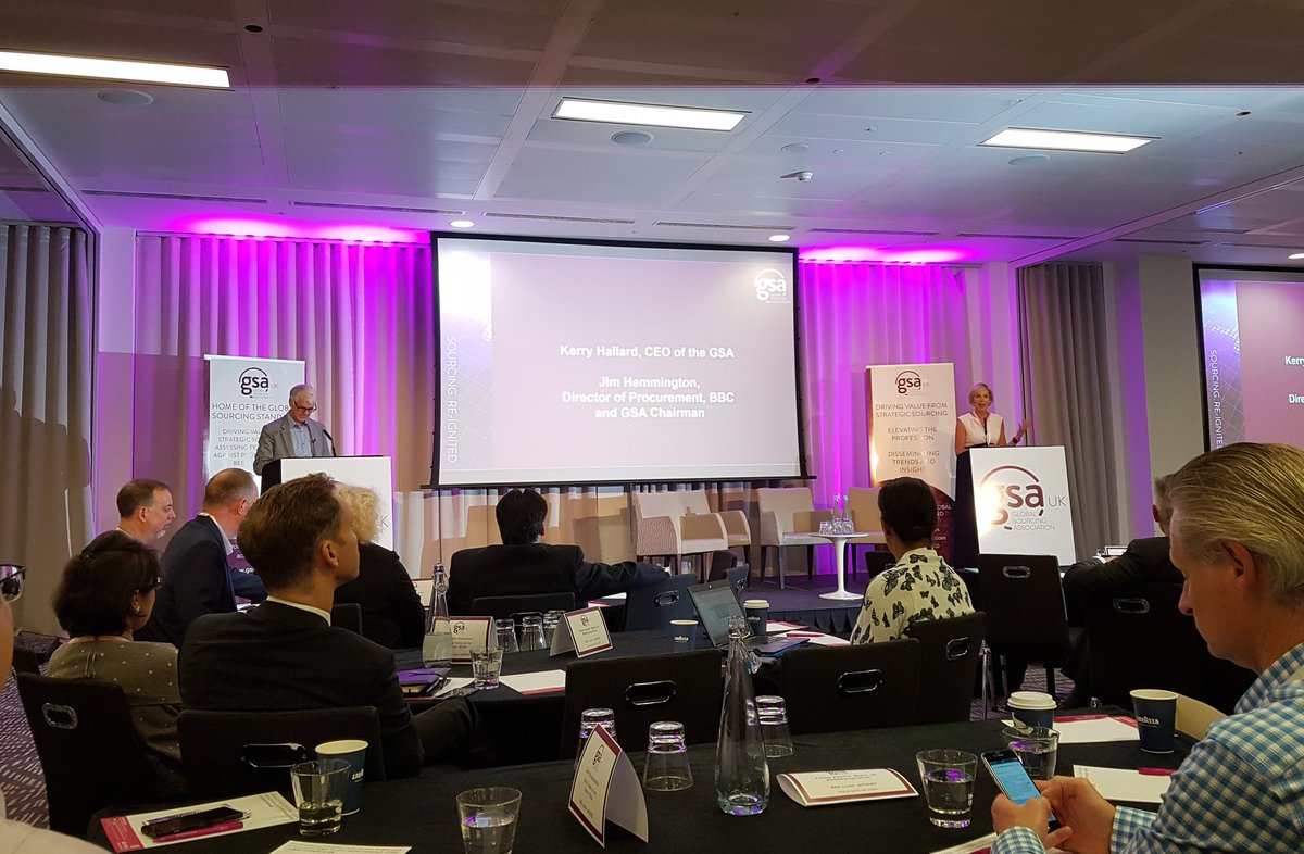 @GSA_UK @ScaleFocus #Sponsor #GSASymposium - Driving value from #strategic #sourcing<br>http://pic.twitter.com/kgFJTfLKgW