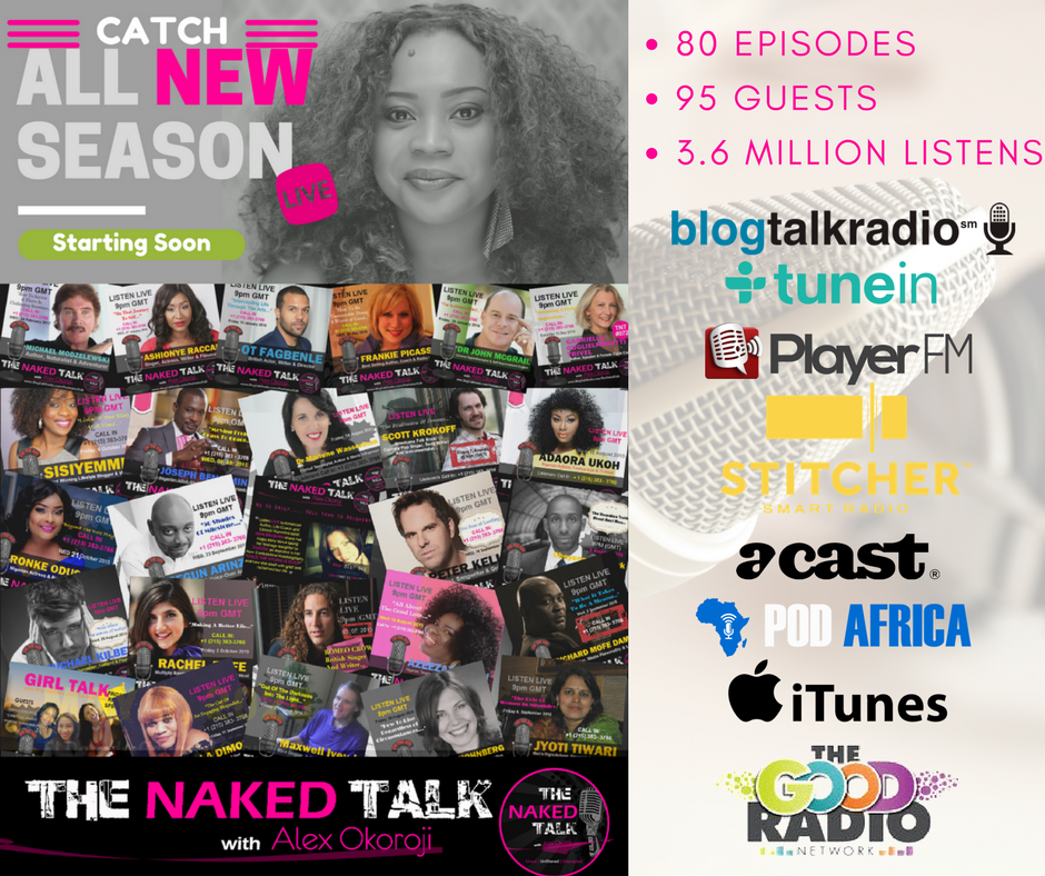Yipee....We are getting ready for a BRAND NEW SEASON of Unscripted, Unfiltered &amp; Uncut Conversations on my LIVE #Radio Show - #TheNakedTalk<br>http://pic.twitter.com/ioUIacUVgm