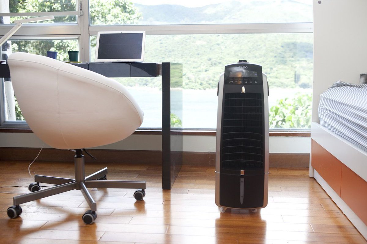 Evaporative #AirCooler and #Humidifier by @QuiloHome  https:// gdfl.us/Quilo  &nbsp;   Producing a beautifully calming natural breeze! #HomeSweetHome <br>http://pic.twitter.com/2piZ4Z5gEN