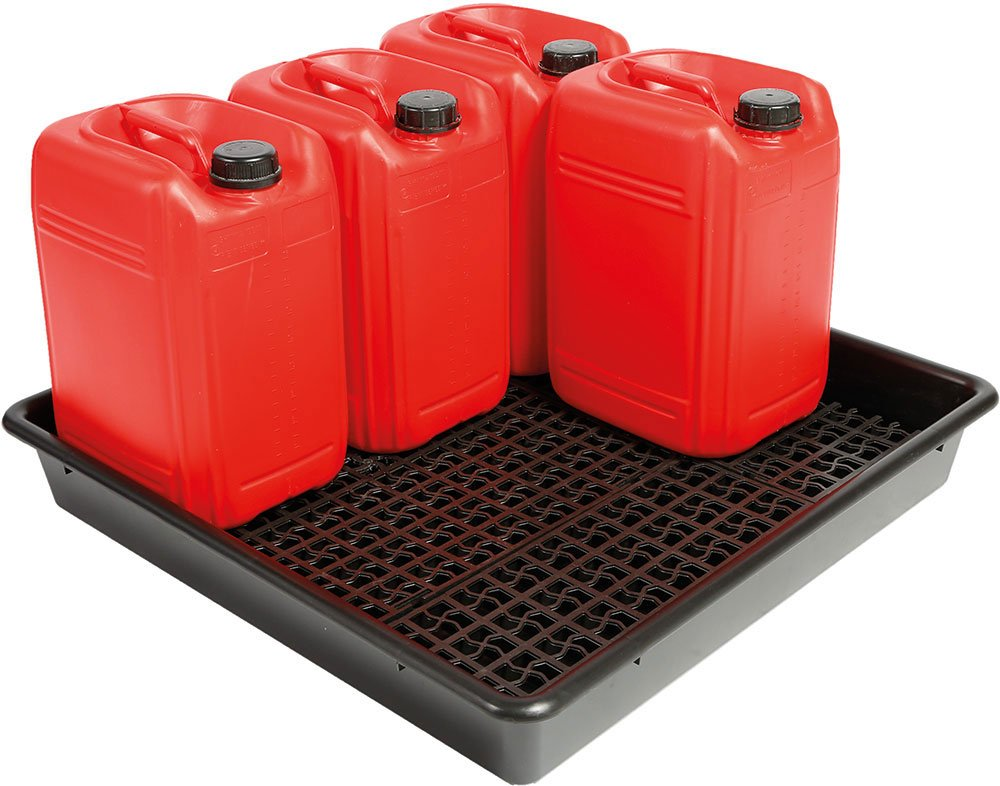 Keep oil &amp; #fuel #spills under #control with these containment pallets.  https:// goo.gl/x3vnfQ  &nbsp;  <br>http://pic.twitter.com/WRlhdXCWrC