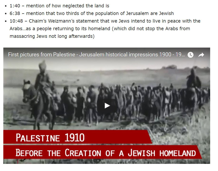 Dont let anyone tell you that pre-state #Israel was a thriving Arab state called Palestine.  http://www. israellycool.com/2017/06/27/wat ch-palestine-1900-1918/ &nbsp; …  Thank you @Israellycool<br>http://pic.twitter.com/1qFSSoaGXt