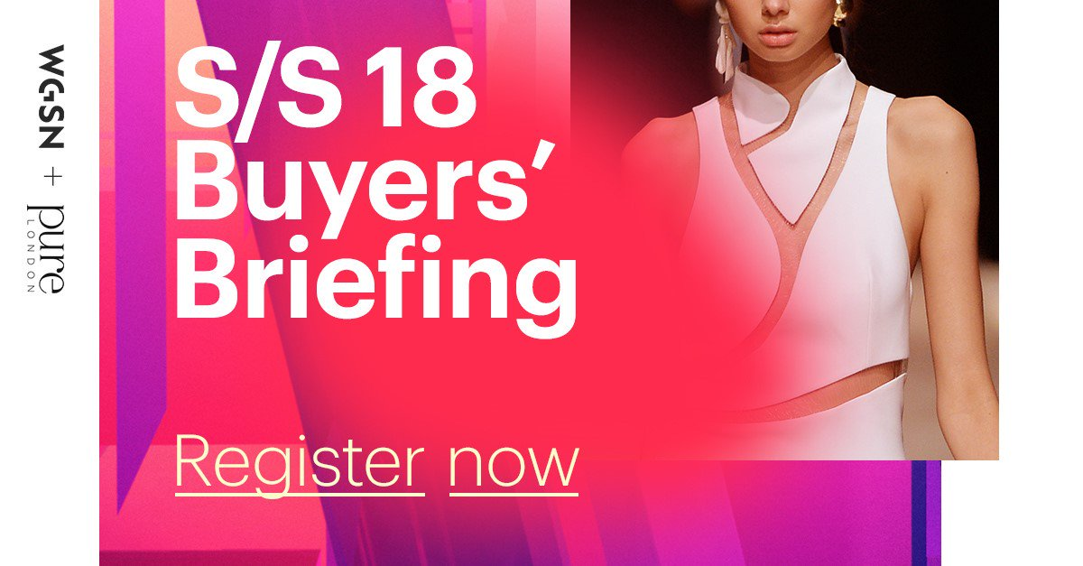 Don't miss our round up of S/S 18 Key Messages at our Buyers' Briefings for Womenswear & Menswear  @PureLondonShowhttps://t.co/JrFkjcIx5w