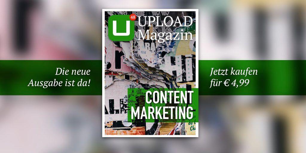 Unsere neue Ausgabe ist da! Schwerpunkt: Content Marketing. Hier eine Übersicht zu allen Inhalten: https://t.co/8503uAjeTS https://t.co/Nry0UjQshL