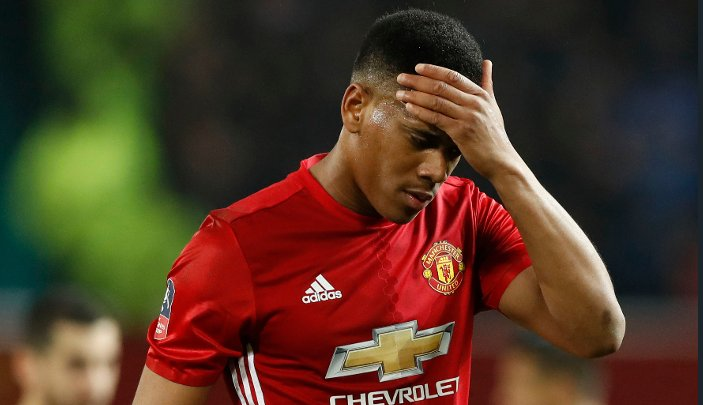 Anthony Martial responds to speculation over his future at Manchester...