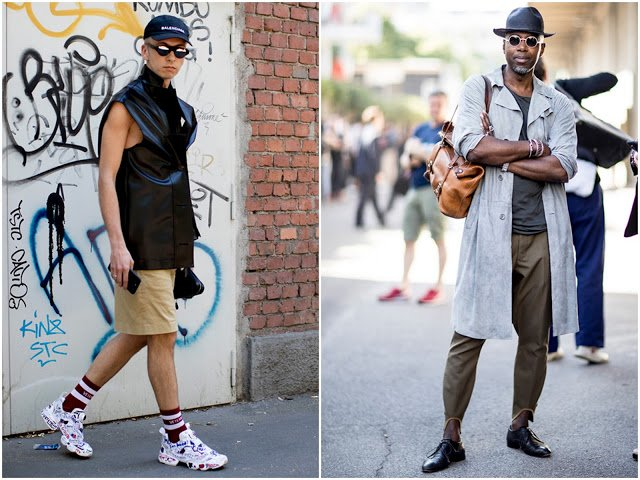 Men's Milan Fashion Week: Street Style