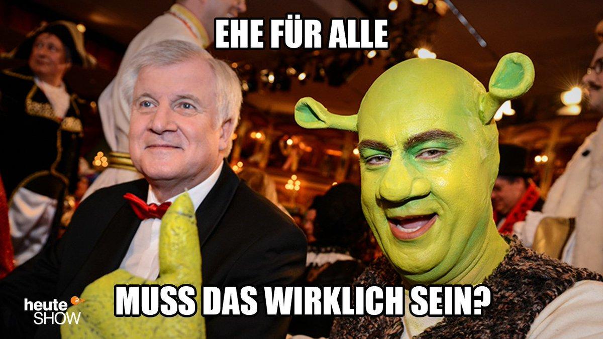 Shrek lass nach! #Ehefueralle https://t....