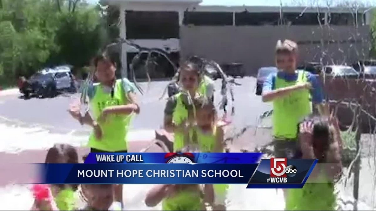 Wake Up Call from Mount Hope Christian School https://t.co/RRjTioPmbz
