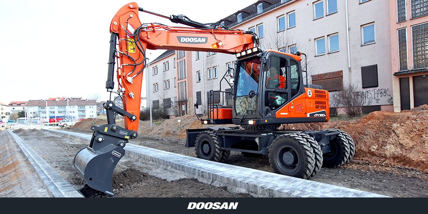 With its reinforced #chassis &amp; #HeavyDuty specific #axles, expect the best #ROI with our DX160W-5 #WheeledExcavator:  http:// bit.ly/DX160W-5-WEX  &nbsp;  <br>http://pic.twitter.com/xVpZJPLMue