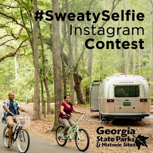 Georgia State Parks & National Historic Site hold  con#SweatySelfietest  More details on how you can participate >>> https://t.co/QUgPf4pHe1