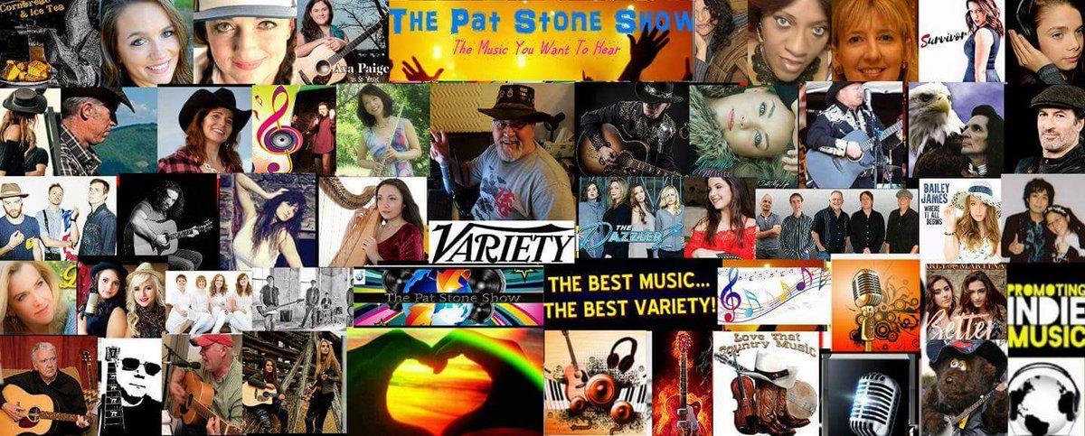 THE PAT STONE SHOW presents A #WORLD OF #VARIETY #MUSIC Thursday 29th june 3-6pmEDT Listen   http:// omcrn.com / &nbsp;    http:// neonmusicradio.com  &nbsp;  <br>http://pic.twitter.com/rLu06pDdOs